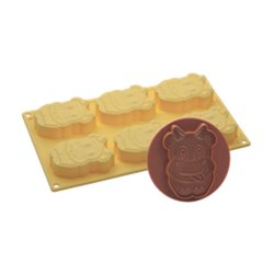 COW ICE CREAM MOULD + PAVONI COOKIE CUTTER REF. CK05