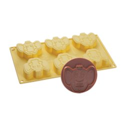 ELEPHANT ICE CREAM MOULD + PAVONI COOKIE CUTTER REF. CK07