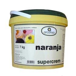 ORANGE SUPERCREAM CUBE 7 KG. ARCONSA