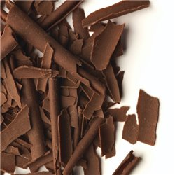 BLACK CHOCOLATE SHAVINGS BOX 2.5 KG. REF. 41168