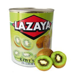 KIWI IN SYRUP CAN 1 KG.
