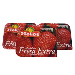 JAM IN STRAWBERRY PORTIONS 256 UNITS/25 GRAMS