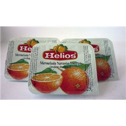 JAM IN PEACH PORTIONS 256 UNITS/25 GRAMS.