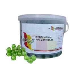 """GREEN CHERRIES """" JACOBO LOZANO S.L. """" CUBE 4 KG."""