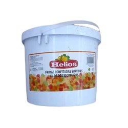 CHOPPED FRUIT HELIOS CUBE 4 KG.