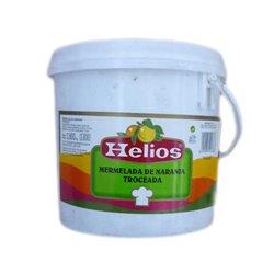 ORANGE MARMALADE CUT INTO CUBES 3.8 KG. HELIOS