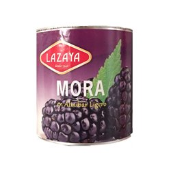 BLACKBERRY IN SYRUP CAN 2,7 KG. LAYAZA
