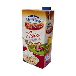 ASTURIAN COOKING CREAM 12% CREAMS - BOX 6 CANS OF 1 LITRE
