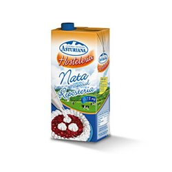 ASTURIAN CREAM UHT ( 35.1 % FAT ) BOX 6 CANS OF 1 LITER