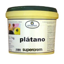BANANA SUPER CREAM CUBE 7 KG. ARCONSA