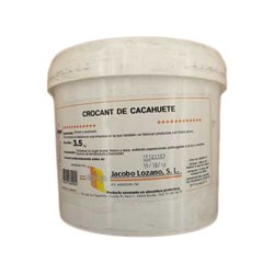 "PEANUT CROCANTI "" JACOBO LOZANO S.L. "" BUCKET 3.5 KG. - GLUTEN FREE"