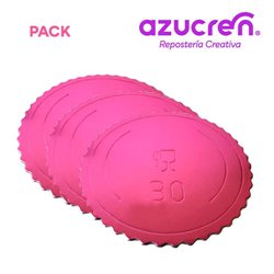 25 Units DISC EXTRA STRONG STRONG PINK 30 X 3 MM. HEIGHT REF.