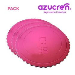 25 Units DISC EXTRA STRONG STRONG PINK 35 X 3 MM. HEIGHT REF.