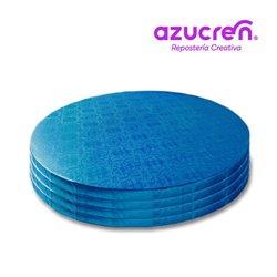 100 Units BLUE ROUND BASE 25 X 1.2 CM. REF. HEIGHT