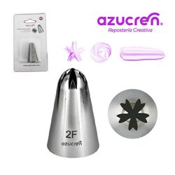 """5 NOZZLES Nº 2F """" DROP FLOWER"""" IN BLISTER PACK"""